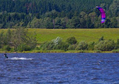Kiteboarding Lipno